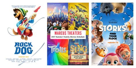film 2017 family marcus theaters 2017 summer family movies schedule sippy