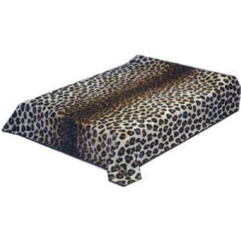 Blanket King Size by New Solaron King Size Leopard Skin Korean Mink