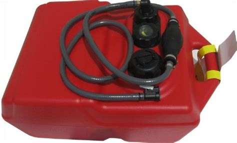 boat gas tank assembly 6 gallon boat portable fuel tank mercury hose assembly
