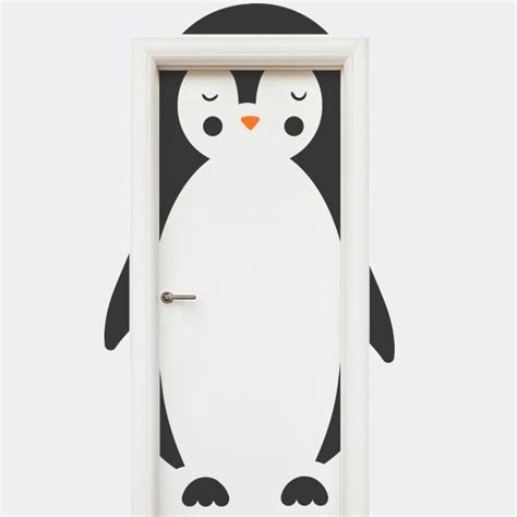 porta enfants sticker porte enfant pingouin