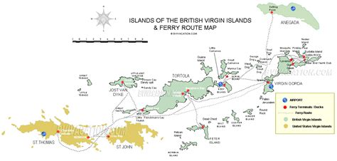map of bvi and usvi bvi vacation getting to travelling to visit tortola