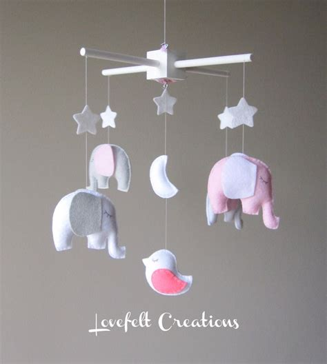 Baby Crib Mobiles Baby Crib Mobile Baby Mobile Elephant Mobile Mobile Nursery Mobile Customize You
