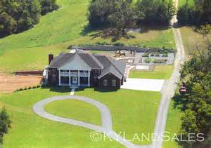 home and land organic blueberry farm estate home 92 acres danville ky