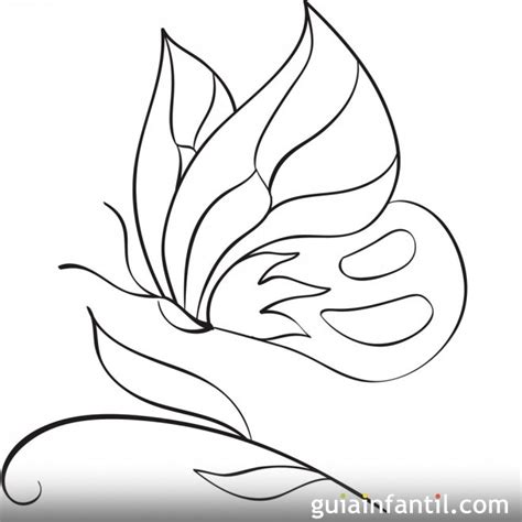 imagenes de mariposas animadas para dibujar dibujo para colorear de una mariposa 10 dibujos de