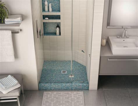 Installing A Bathtub Drain Redi Ledge Shaving Steps Amp Shelves