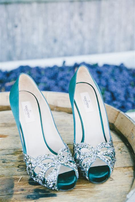 Turquoise Wedding Shoes by Color Inspiration Stylish Turquoise And Teal Wedding