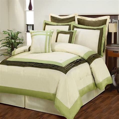 green comforter sets green comforter set 28 images beautiful 7pc modern