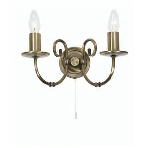 Brass Wall Lights Traditional Antique Brass Wall Light Suitable For