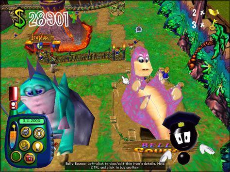theme park world activewindows theme park world simtheme park review