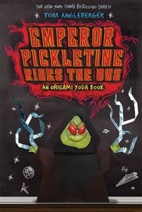 New Origami Yoda Book - talk to tom week of april 15 the rise of pickletine