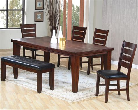 dining room table sets with bench attachment dining room table sets with bench 1073
