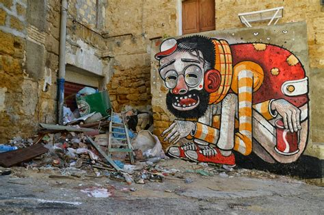 street art mr thoms quot trash only salvation quot new street art in