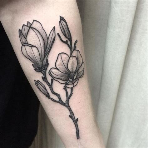 magnolia flower tattoo designs 17 best ideas about magnolia on post