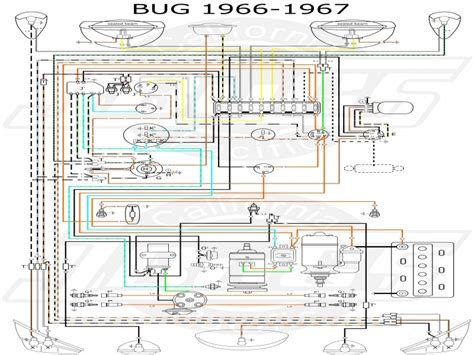 1967 vw beetle wiring diagram wiring diagram