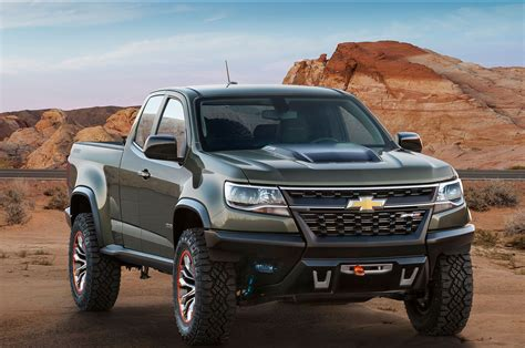 truck shows in colorado chevy colorado zr2 concept unveiled at los angeles auto