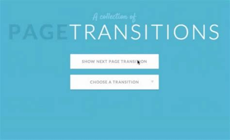 css color transition effeckt css ui less fast transitions animations web