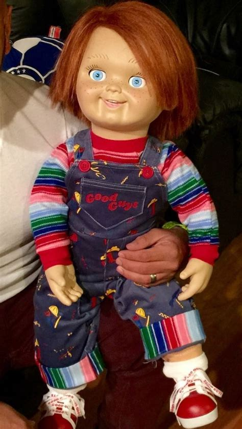 chucky movie number 1 chucky 1 1 good guys doll chucky prop replica child s