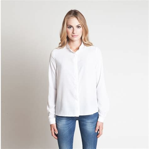 Whity Blouse classic blouse white