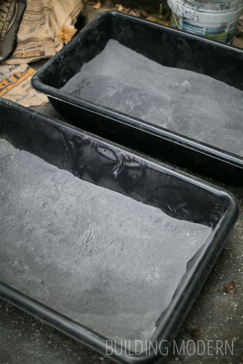 kitchen diy concrete countertops preparation for the pour