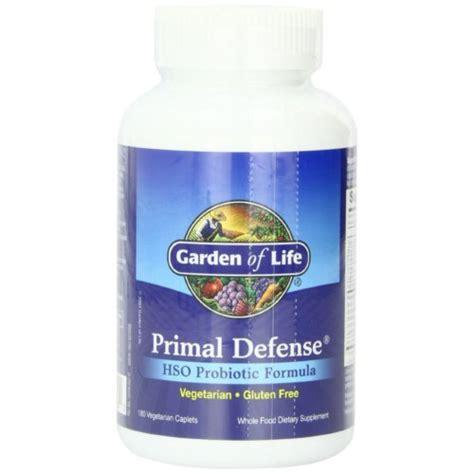garden of primal defense hso probiotic formula 180