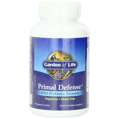 Garden Of Infant Probiotic Garden Of Primal Defense Hso Probiotic Formula 180