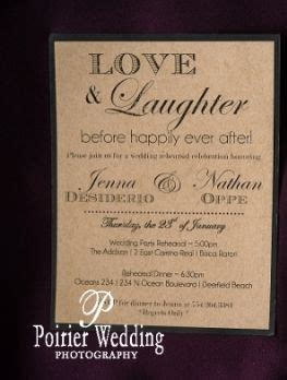 Wedding Announcement Wording Before Wedding by And Laughter Before Happily After As Wedding