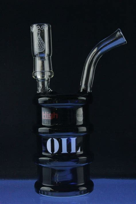 Detox From Dabs by High Tech Black Barrel Rig Dab Rigs And Vapor Rigs