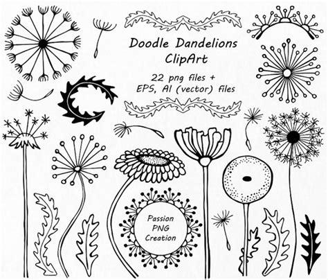 flower doodle free gezeichnet doodle l 246 wenzahn clipart blumen silhouetten