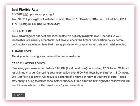 Hotel Cancellation Letter Exle Exclusive Marriott To Adopt New Hotel Cancellation Policy On Jan 1 2015 Travelupdate