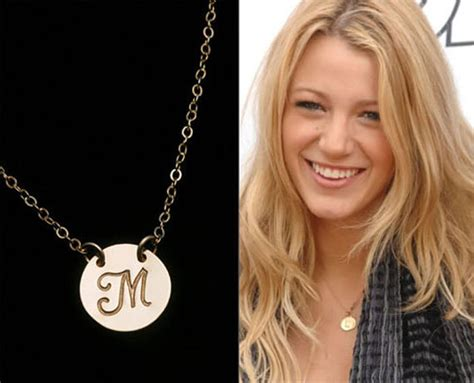 celebrity personalized jewelry initial pendant large disc necklace personalized jewelry