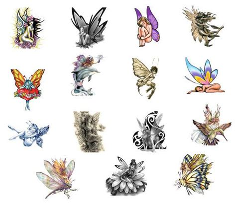 faerie tattoo designs best faerie and ideas