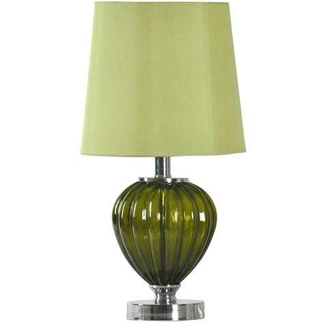 green glass table l 19 quot green glass table l