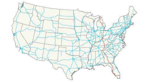 kentucky map i 75 interstate 75