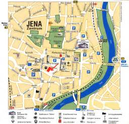guide to bach tour jena city map