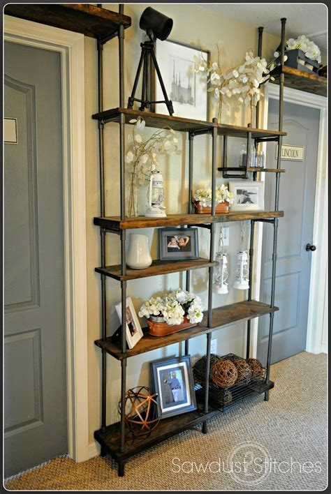 how to build a pipe l remodelaholic build a budget friendly industrial shelf