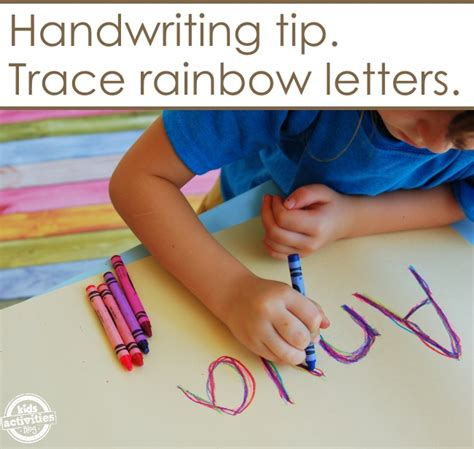 ways to write your name on paper 10 ways to practice writing your name activities