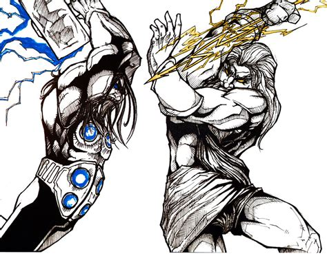 thor movie vs mythology thor avengers movie vs zeus god of war battles comic