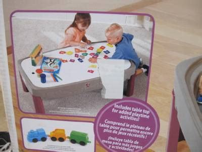 Step 2 Activity Table by Step 2 754700 Road Track Car Set Craft