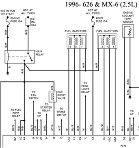 mazda mx6 distributor wiring diagram 1 wiring diagram