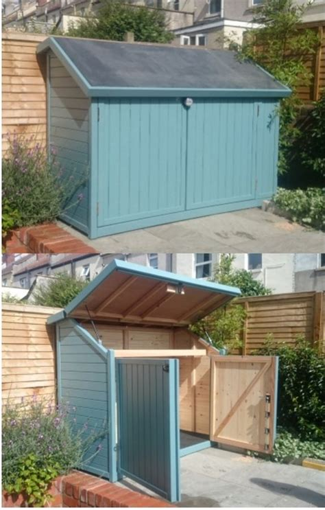 Shed Bristol by Bespoke 3 Bike Shed Installed In Bristol Solid Timber