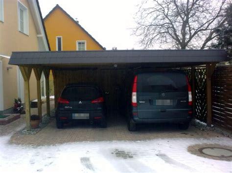 Carport Preisliste by Moderne Carports Im Bauhausstil