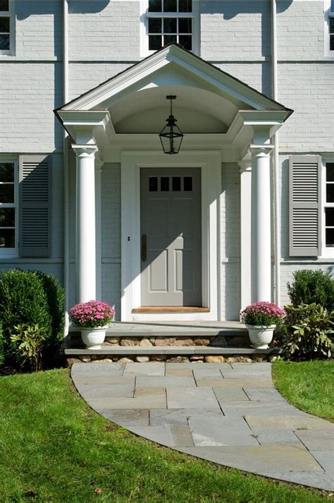 colonial front porch designs traditional colonial home decoration for neutral and calm