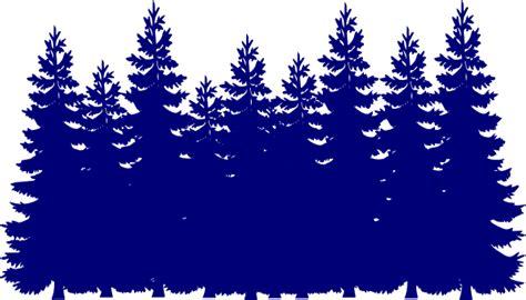 navy blue tree navy blue tree forest clip at clker vector clip