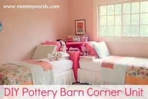 pottery barn corner bed diy pottery barn store it corner unit that s vandy