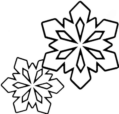 Free Printable Snowflakes To Color | free printable snowflake coloring pages for kids