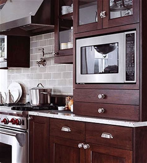 Upper Kitchen Cabinet Dimensions by How To Integrate A Microwave