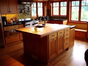 2 level kitchen island traditional kitchen other