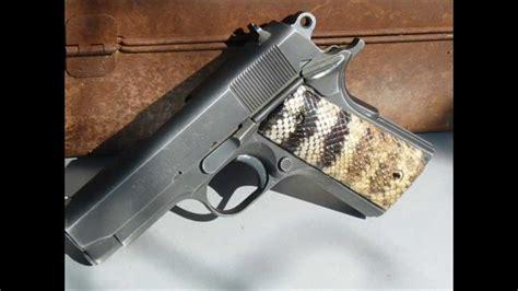Handmade Gun Grips - custom pistol grips