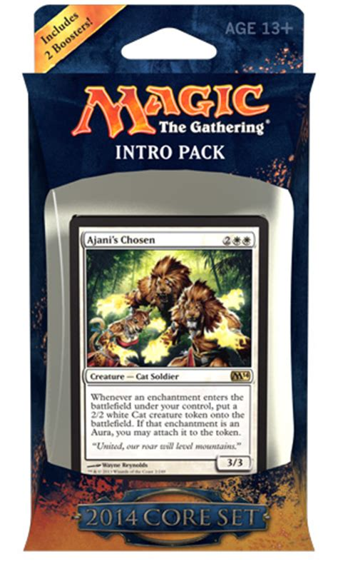 Magic The Gathering White Starter Deck by Magic 2014 Intro Pack Decklists Daily Mtg Magic The