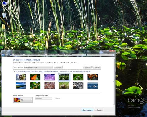download themes for windows 7 earth bing earth day windows 7 theme download